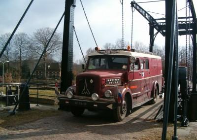 Magirus Deutz S 3500 Bouwjaar 1952 ex manschappenwagen BB